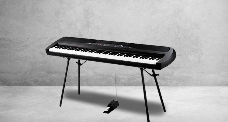 Korg SP-280BK 88-Key Digital Piano and Speaker (Black) – Reviews