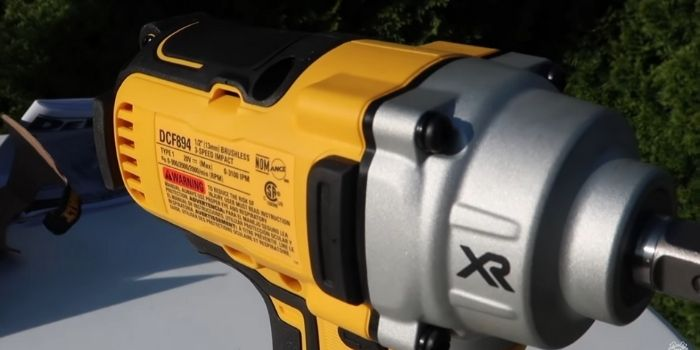 impact cordless wrench Control