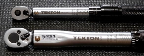 Torque Wrench or Socket Wrench